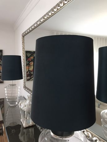 Abajurs + Almofadas decorativas