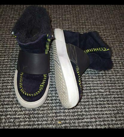 Зимние кеды ботинки ботиночки фирменные puma