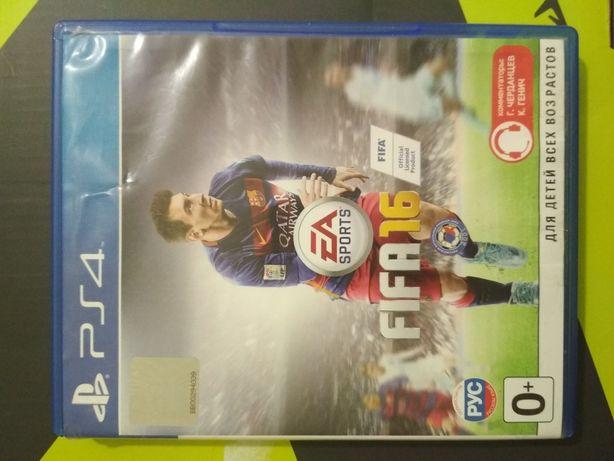 Игры ps4, Fifa 16
