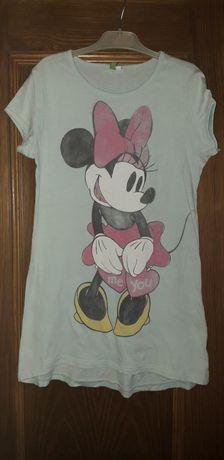 T shirt/túnica Minnie Benetton e Violetta 4/5anos