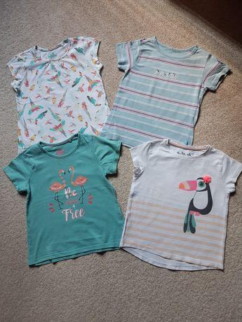 T-shirty dla dziewczynki 104cm