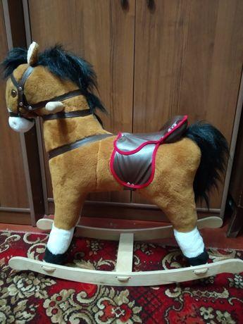 Лошадь лошадка качалка игрушка