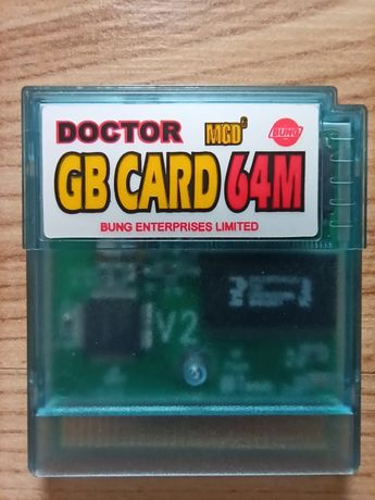 Game Boy Color -programowalny cartridge do GB GBC Doctor GB Cart 64