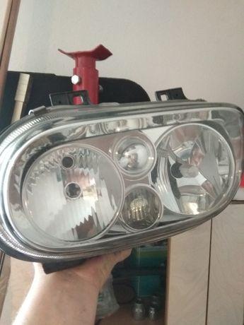 Reflektor golf 4 lewy, klosz, szklo europa