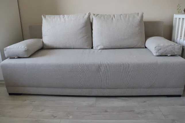 Ikea nowoczesna sofa 3os z funkcją spania 140 x200cm