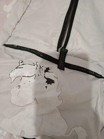 biały plecak nici plecak szkolny
