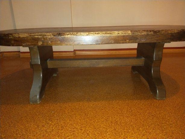 Ława drewniana klejona