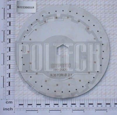 Tarcza wysiewająca 36 otw. 2,1 mm GASPARDO G10121.420R
