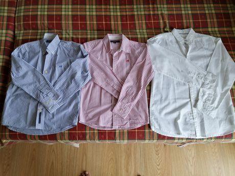 Camisas criança Sacoor e Zara