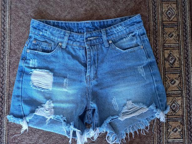 Джинсовые шорты, джинсовый комбез