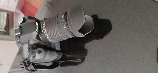 Canon 50d + Sigma 18-250mm