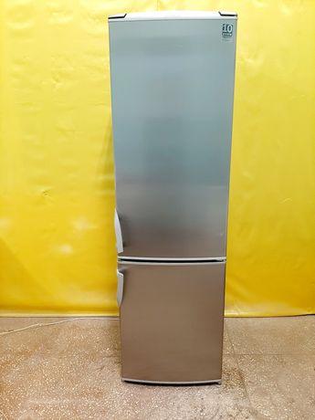 Двухкамерный холодильник Gorenje RK4295E ширина 55cm,нержавейка