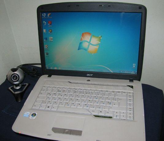 Ноутбук ACER Aspire 5715Z рабочий хорошее сост. + вебкамера в подарок