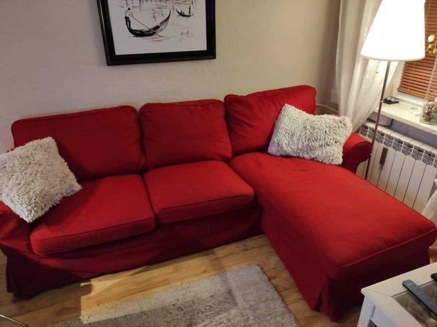 Nowa Sofa z szezlongiem (IKEA)