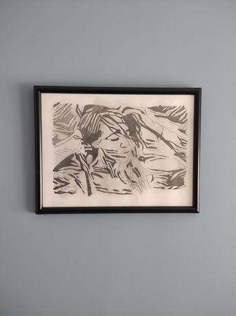 Obrazek szkic kobieta