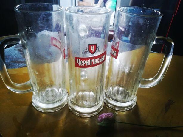 Бокалы, кухлі для пива Чернігівське