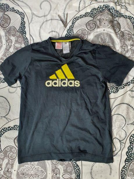 Koszulka Męska T-Shirt Adidas Rozmiar S Jak Nowa Czarna Oryginalna