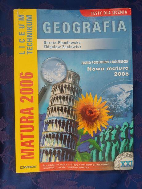 Geografia testy maturalne szkoła średnia
