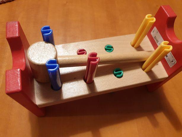 Ikea Mula zabawka edukacyjna przebijanka IKEA