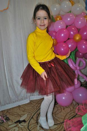 Юбка-пачка , ту-ту на 5-7 лет
