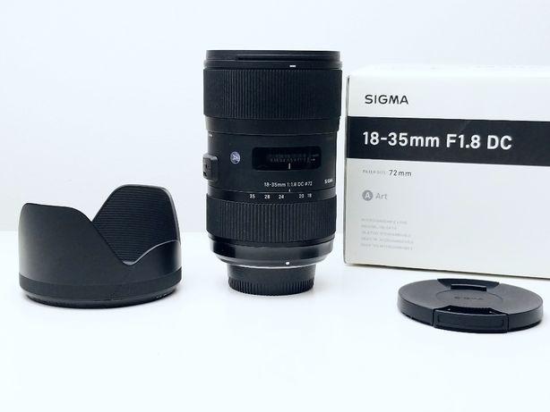 Sigma AF 18-35mm f/1.8 Art DC HSM Nikon