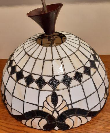 Lampa witrażowa sufitowa