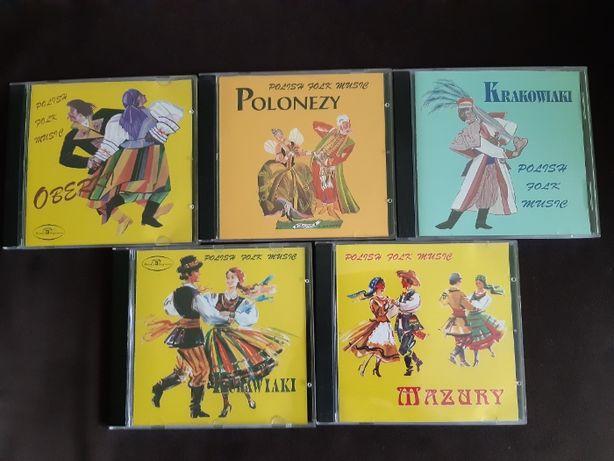Płyty CD POLISH FOLK MUSIC Oberki Polonezy Krakowiaki Kujawiaki Mazury