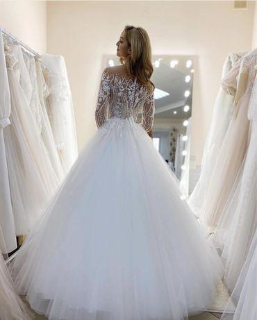 Шикарне весільне плаття Crystal свадебное платье