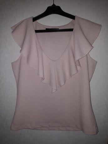 Шикарная пудровая блуза Reserved