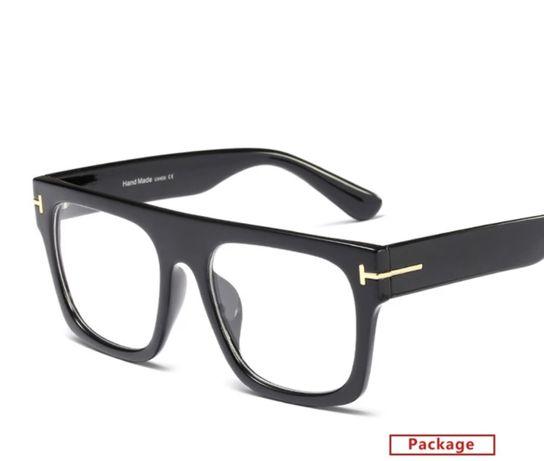 Nowe! Okulary oprawki designerskie ze szklami 0 z filtrem UV400