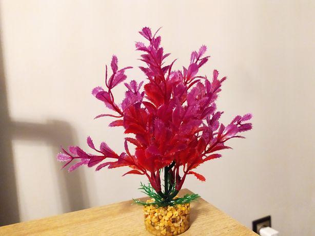 Sztuczna roślinka do akwarium