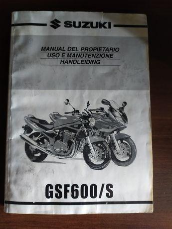 Instrukcja suzuki bandit gsf 600 manual