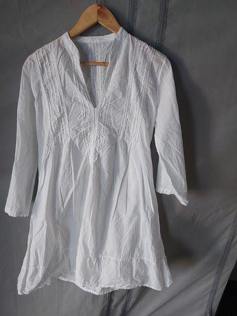 Sukienka biała,  letnia