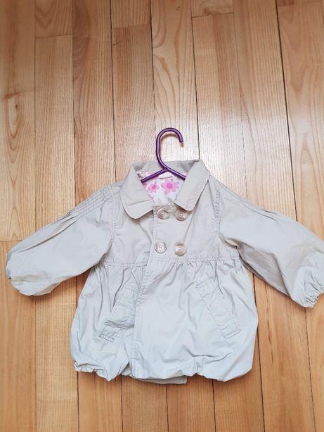 Płaszczyk H&M dla dziewczynki bombka