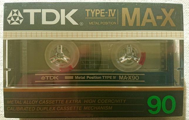 Kaseta magnetofonowa - TDK MA-X 90 - folia