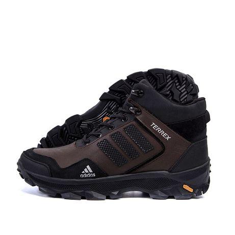 Зимние кроссовки мужские кожаные высокие ботинки Adidas Vidrum 26-30см