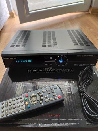 Dekoder Golden Interstar GI-S890HD Crci Excellence HDMI SPDIF
