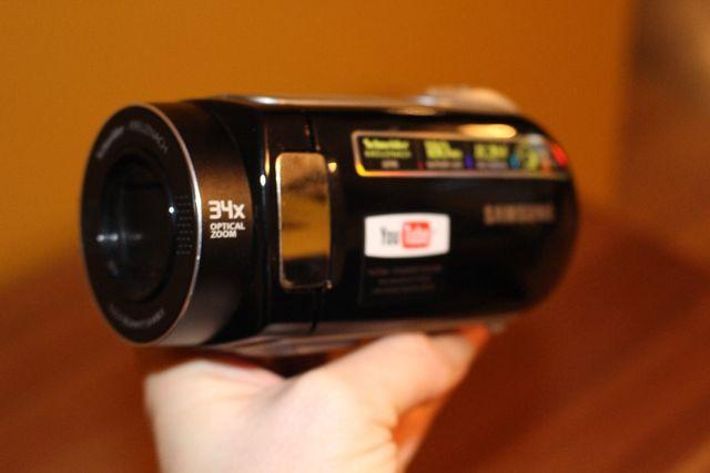 Kamera Samsung Schneider Kreuznach 34x optical zoom
