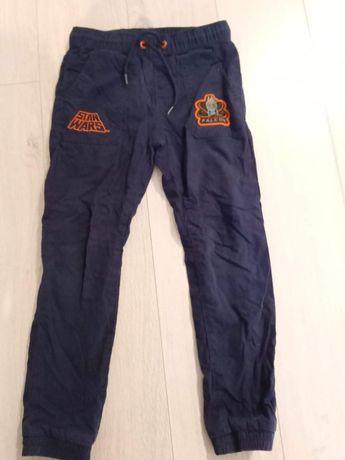 Spodnie jesienno zimowe C&A Star Wars 116