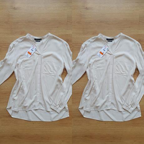 Beżowa nowa koszula Reserved 38 M dłuższy tył