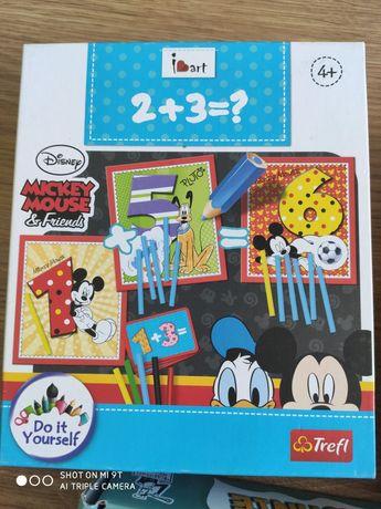 Gra edukacyjna nauka i zabawa z Myszką Miki