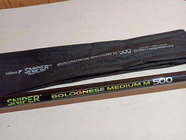 Продам поплавочное удилище с кольцами Salmo Sniper Bolongese Medium M