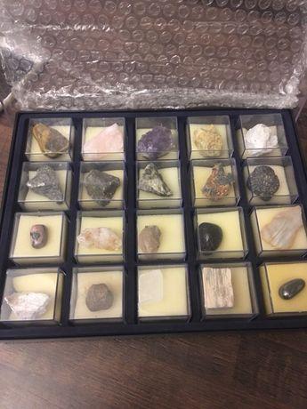Коллекция камней набор натуральных камней DeAgostini деагостини