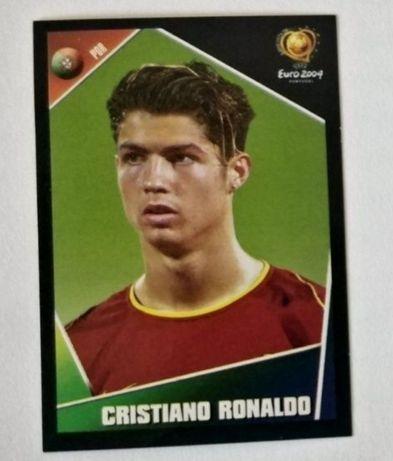 Cromo Cristiano Ronaldo euro 2004