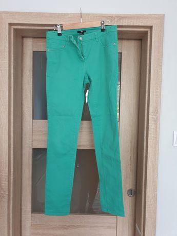 Spodnie H&M zielone 38