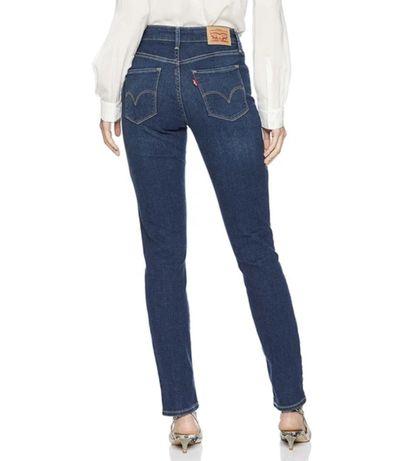 Синие джинсы levi's, levi strauss оригинал, mid rise skinny levis