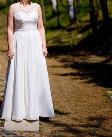 Suknia Ślubna Zestaw dwie suknie plus bolerko