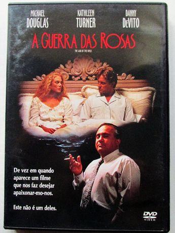 DVD - A Guerra das Rosas, com Kathleen Turner, Michael Douglas, Vito