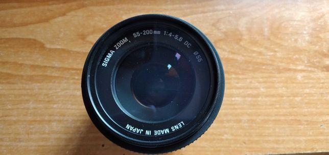 Obiektyw SIGMA 55-200mm DC for Nikon