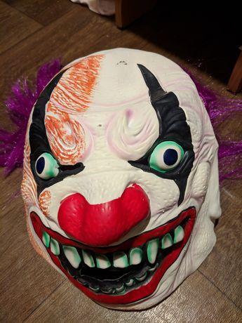 Маска клоуна шут клоун хэллоуин Halloween